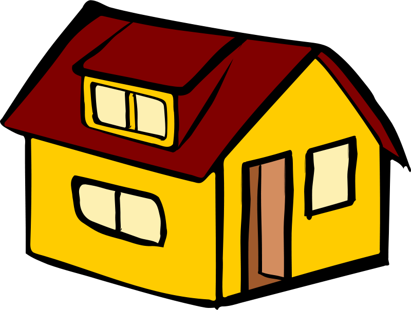 Simple house clipart graphic freeuse download Simple House Clipart at GetDrawings.com | Free for personal use ... graphic freeuse download