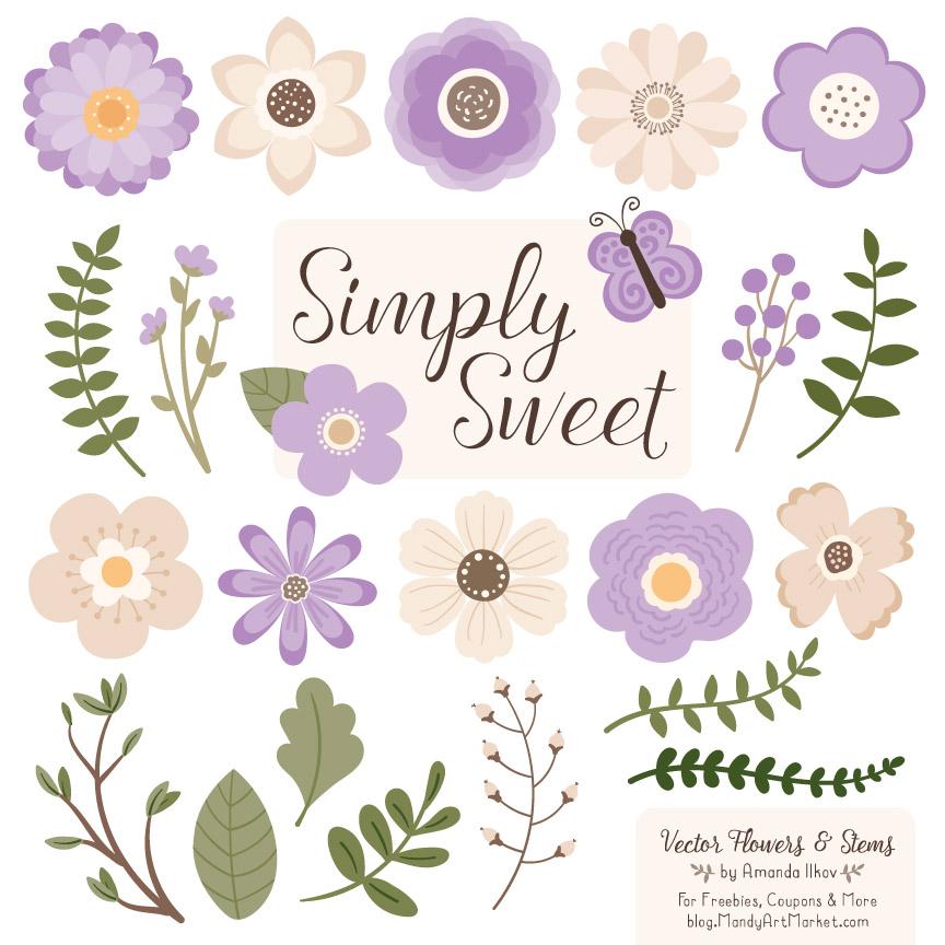 Basic lavender clipart clip freeuse stock Lavender Flower Clipart clip freeuse stock