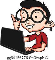 Basic nerd clipart jpg transparent stock Nerd Clip Art - Royalty Free - GoGraph jpg transparent stock