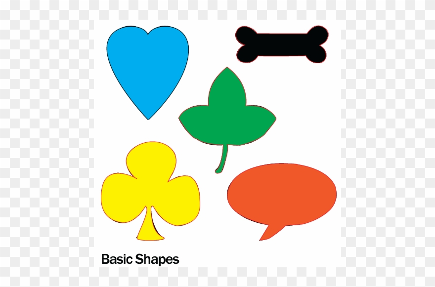 Basic shapes clipart png freeuse stock Graphic Design - Pen Tool Basic Shapes Clipart (#1564952) - PinClipart png freeuse stock