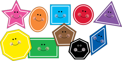 Free shapes clipart image download Free!! Cute shape clipart! There are also fish, and other holiday ... image download