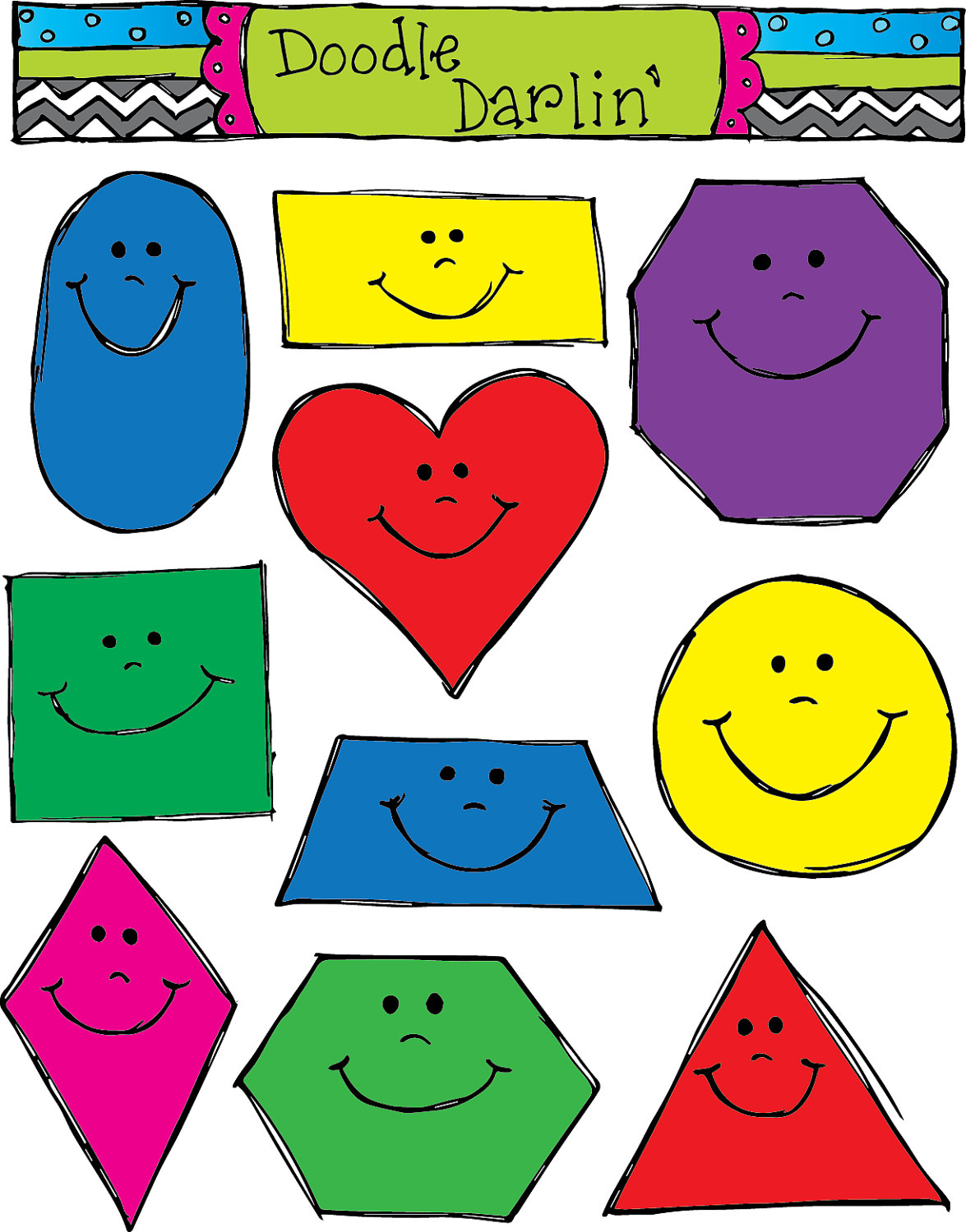 Free shapes clipart vector library library Free Basic Shapes Cliparts, Download Free Clip Art, Free Clip Art on ... vector library library