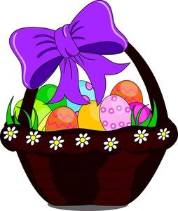 Basket clipart easter vector transparent download Easter Basket Clipart - Clipart Kid vector transparent download