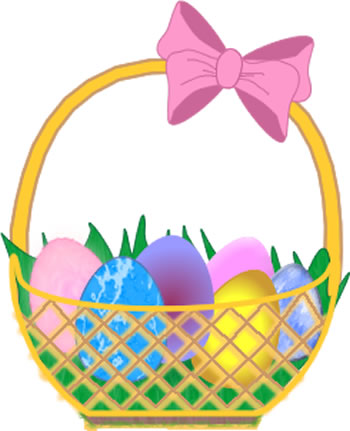 Basket clipart easter image free stock Easter Basket Clip Art - Easter Wallpapers image free stock
