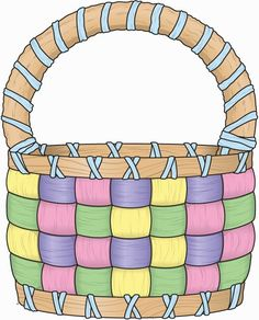 Basket clipart easter picture library library HAPPY EASTER 3 Digital Clipart , Easter Clipart, Bunny ClipArt ... picture library library