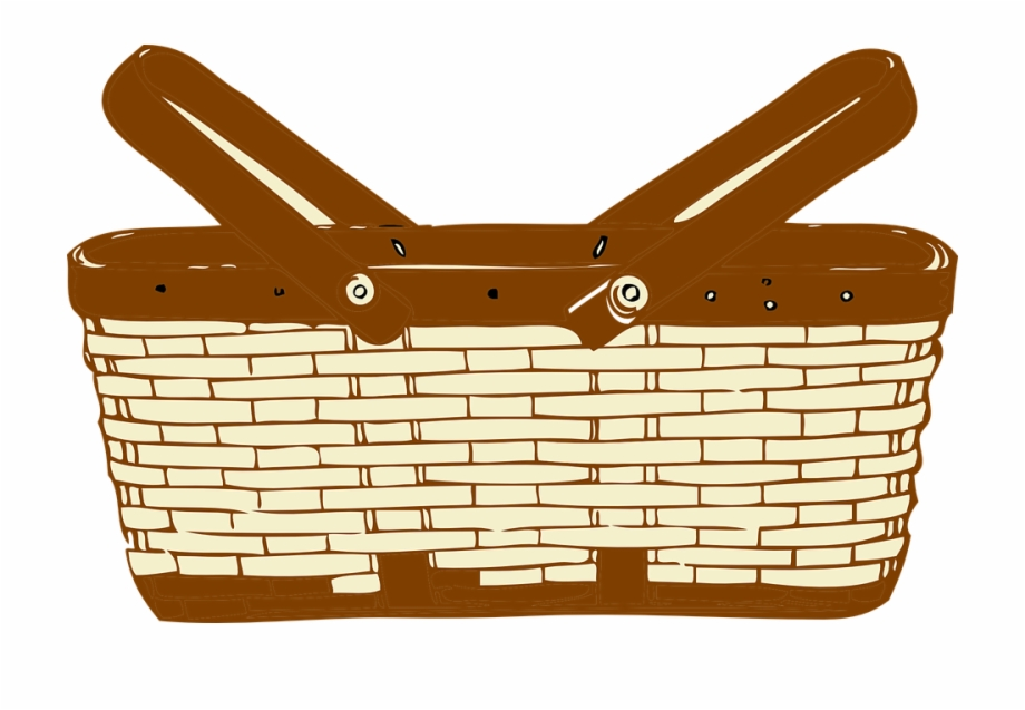 Basket clipart free png stock Picnic Basket Clipart Free PNG Images & Clipart Download #1261294 ... png stock