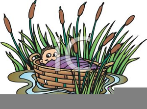 Basket clipart moses