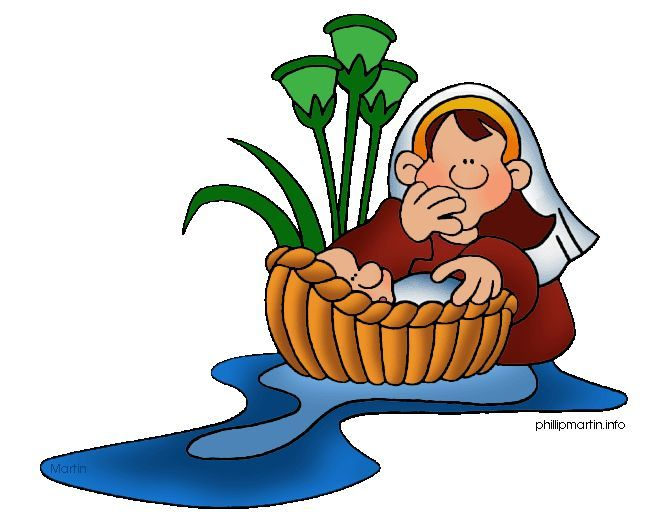 Moses clipart images