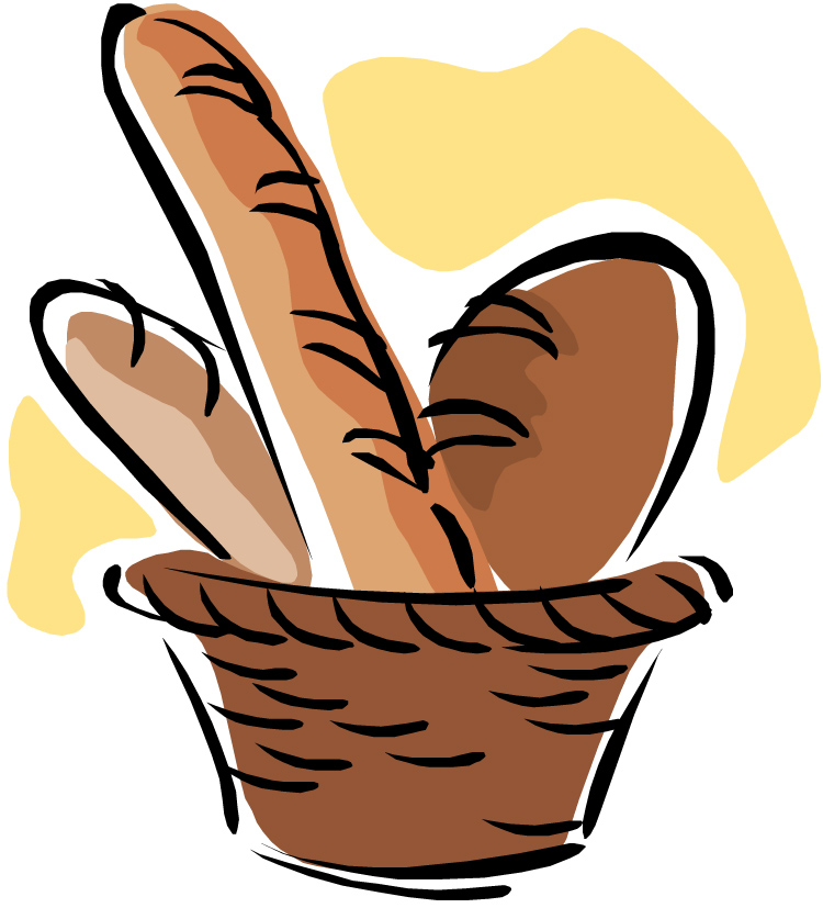 Basket full of bread clipart clipart freeuse library Free Slice Of Bread Clipart, Download Free Clip Art, Free Clip Art ... clipart freeuse library