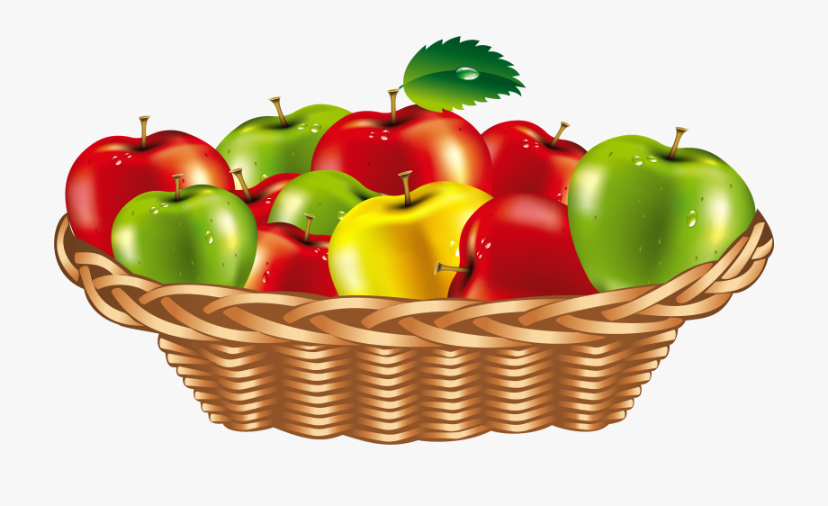 Basket of apples clipart png graphic black and white Fruit - Fruit Basket Clipart Png, Cliparts & Cartoons - Jing.fm graphic black and white