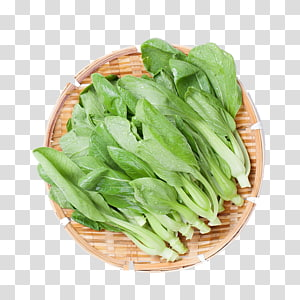 Basket of lettuce clipart transparent clip free Chinese broccoli Kale Spring greens Food Romaine lettuce, Bamboo ... clip free