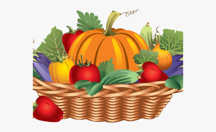 Basket of vegetables clipart vector black and white stock Fruits And Vegetables Clipart - Basket Of Fruits And Vegetables ... vector black and white stock