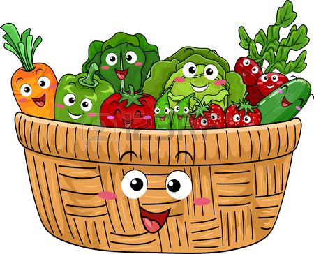 Basket of vegetables clipart image stock Basket Of Vegetables Clipart | Free download best Basket Of ... image stock