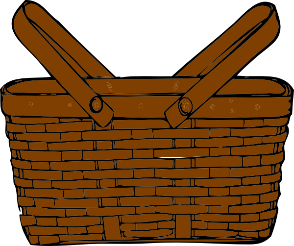 Basket pictures clipart vector library library Empty basket clipart 5 » Clipart Station vector library library