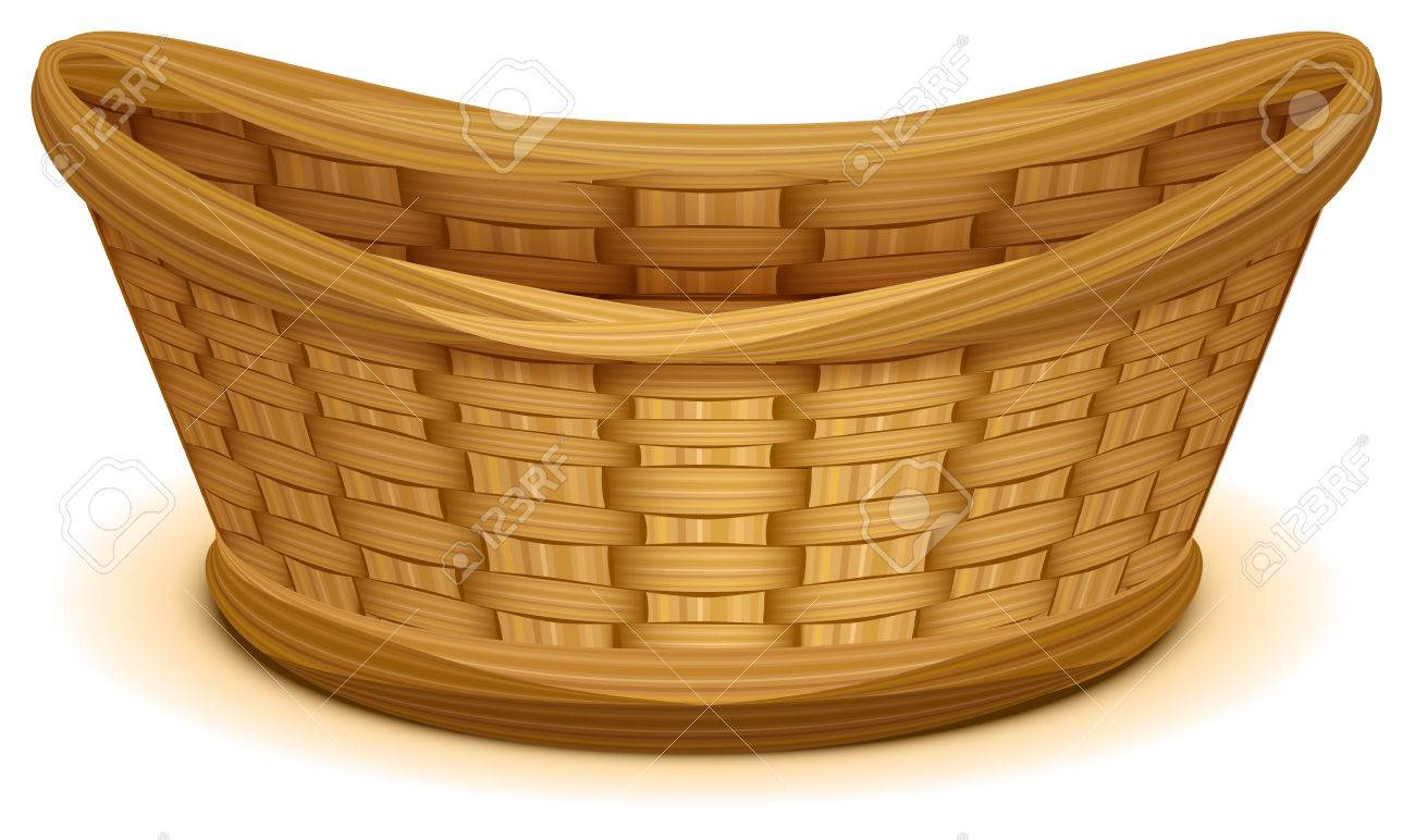 Basket pictures clipart black and white download Collection of 14 free Basket clipart rattan basket aztec clipart ... black and white download