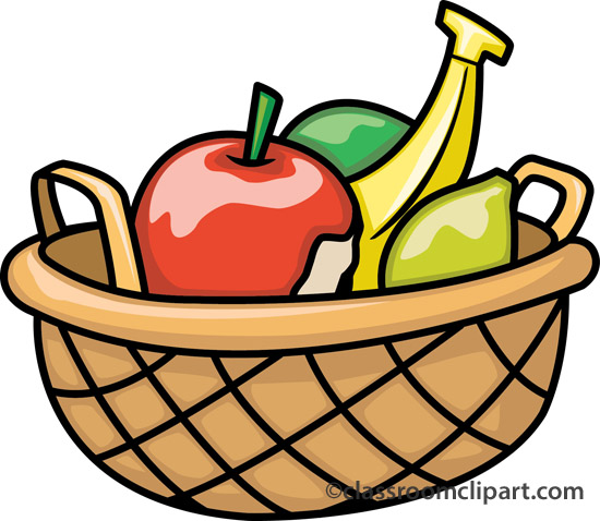 Fruitbasket clipart graphic black and white Fruit Basket Clipart Group with 19+ items graphic black and white