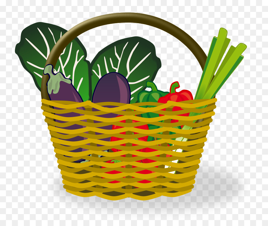 Basket with food clipart graphic library library Easter Background clipart - Basket, Food, Grass, transparent clip art graphic library library