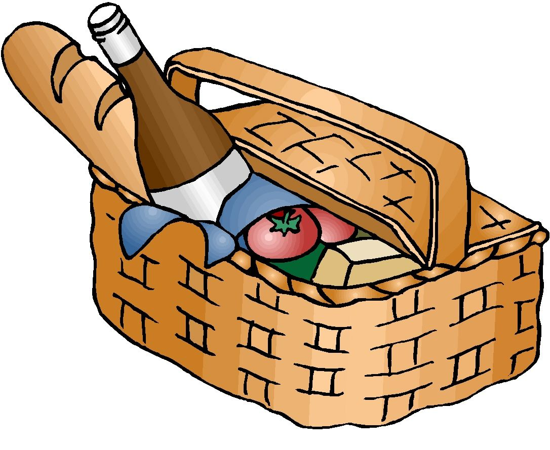 Basket with food clipart vector library library Pin by Donna Hicks on Projects to Try | Food clipart, Free food ... vector library library