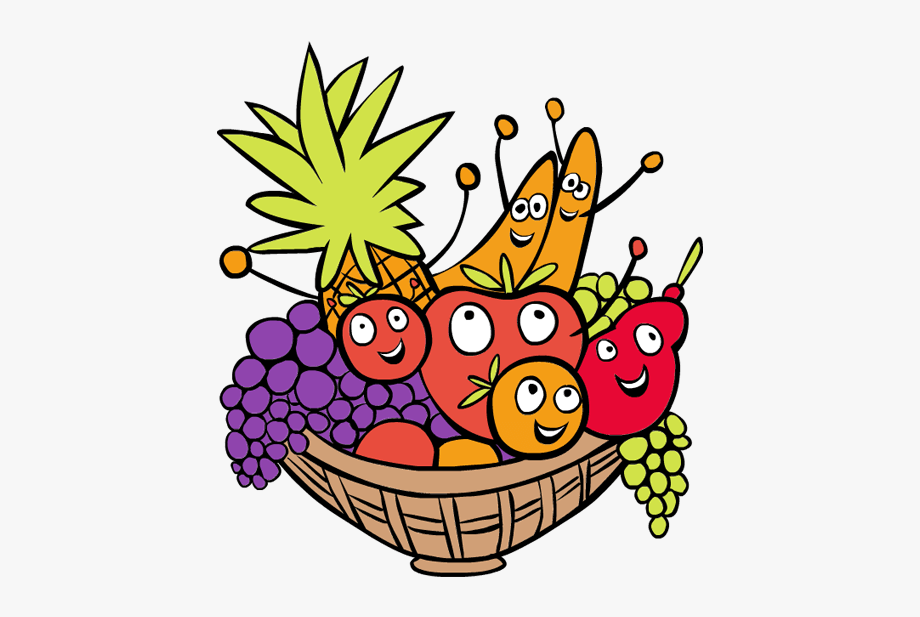 Basket with food clipart image library library Clip Art Food Basket Thanksgiving Food Baskets Clipart - Fruit ... image library library