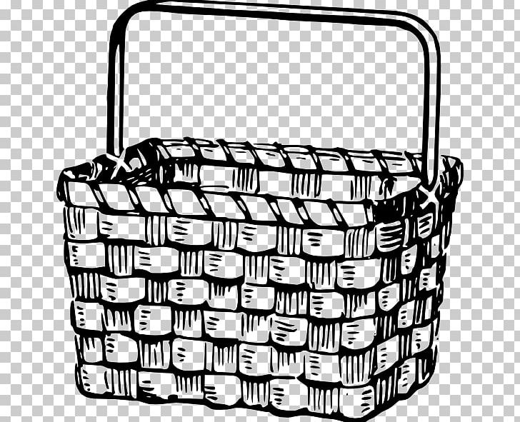 Basket without handles clipart black and white banner free download Picnic Basket Easter Basket PNG, Clipart, Basket, Black, Black And ... banner free download