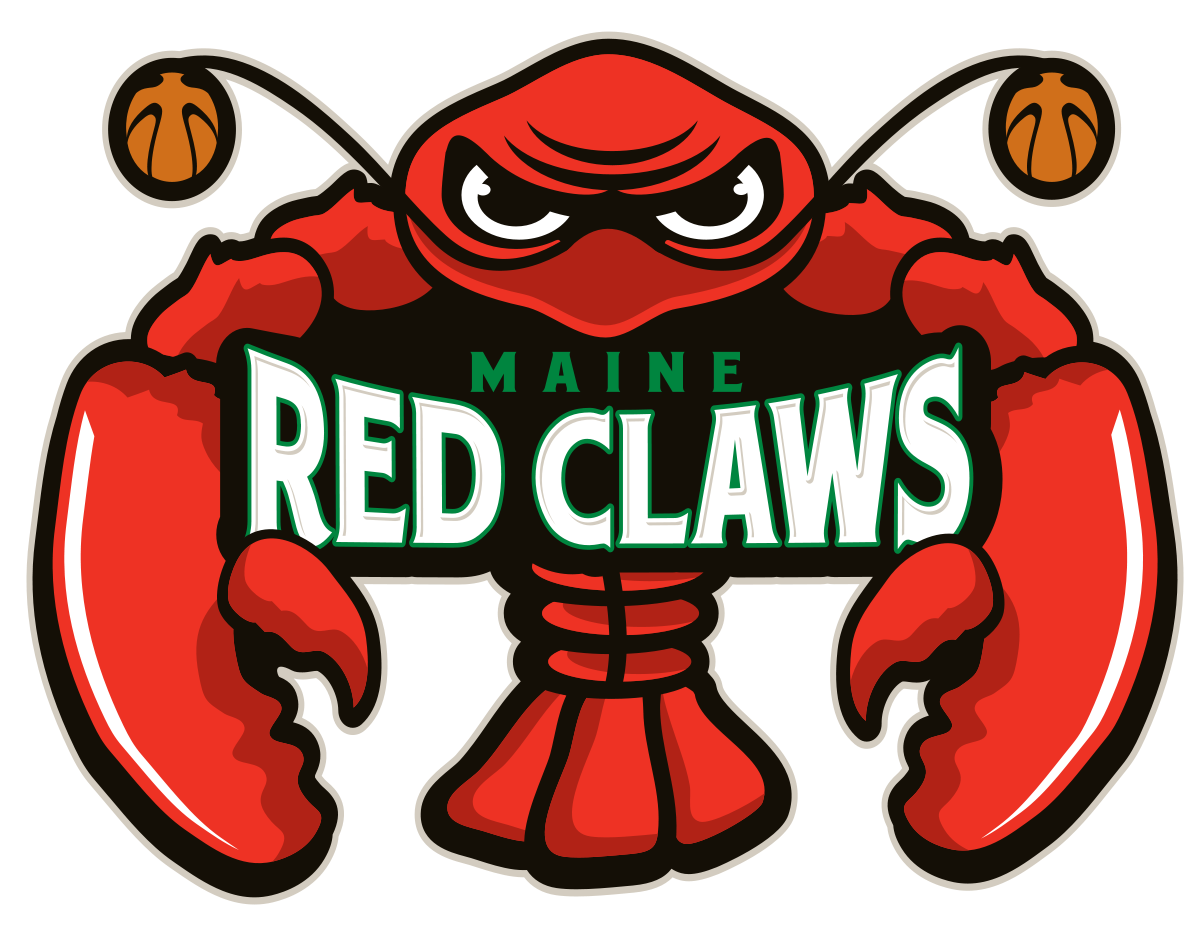 Basketball and claw clipart image download Maine Red Claws - Wikipedia image download