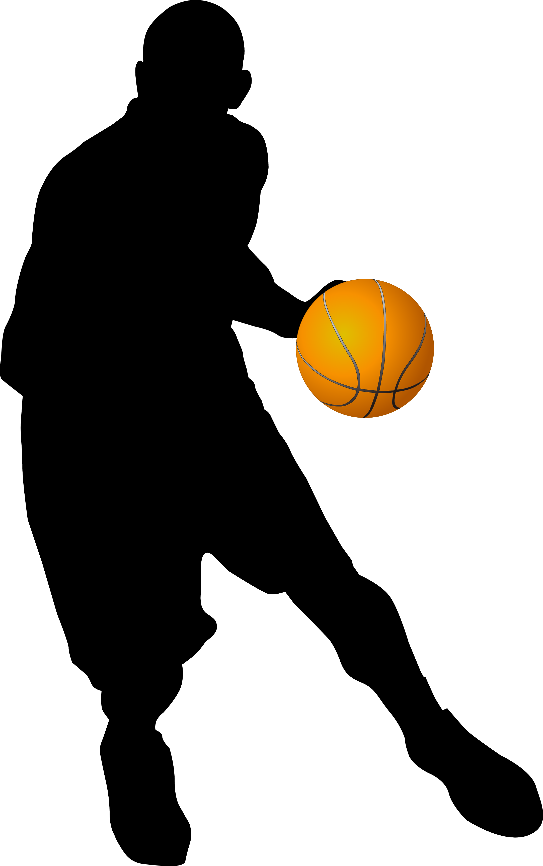 Basketball player shooting clipart png black and white Chicago Bulls Basketball player Clip art - Basketball player 2165 ... png black and white