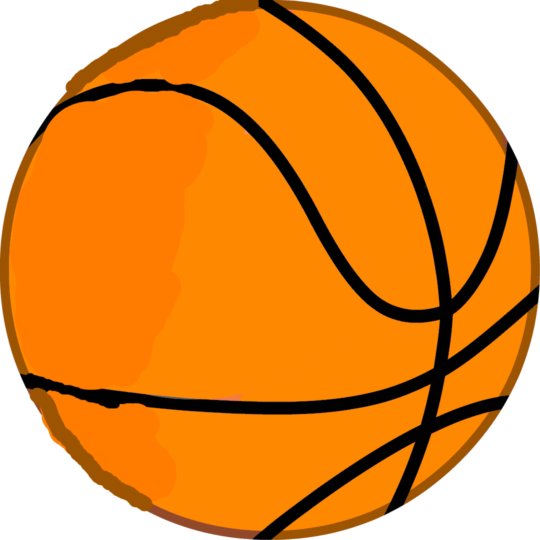Basketball and donuts clipart vector freeuse stock Image - New Basketball DEBUT Body.png | Battle for Dream Island Wiki ... vector freeuse stock