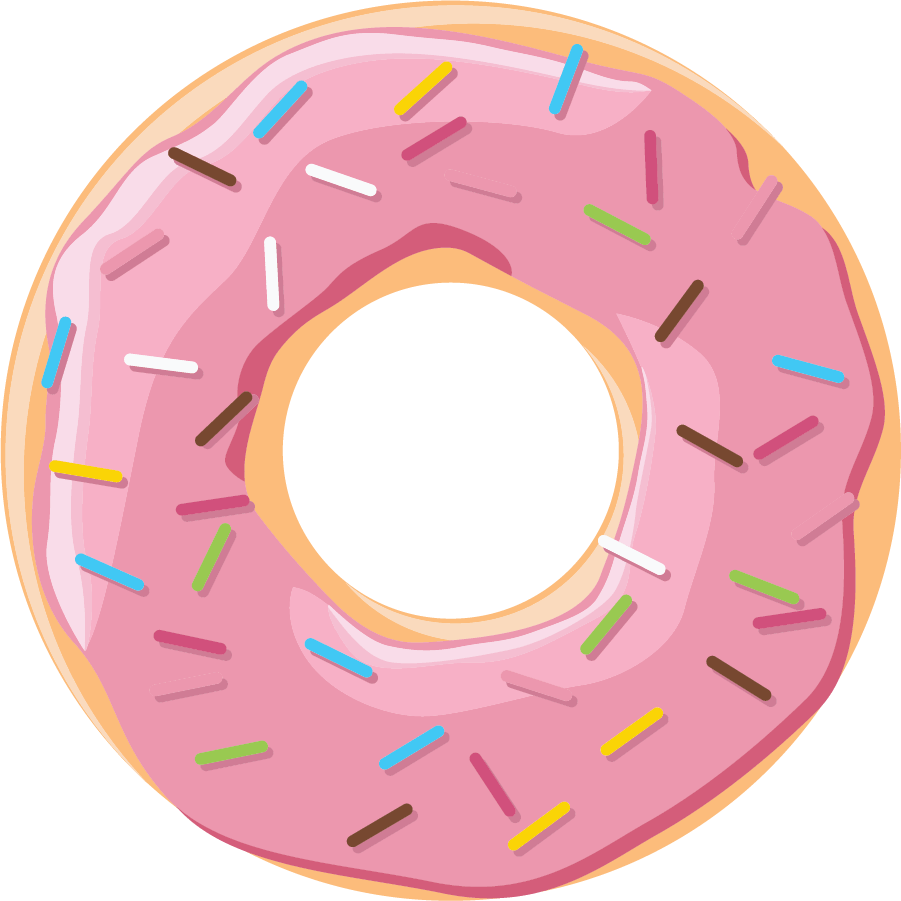 Basketball and donuts clipart vector transparent download Donuts With Dad Breakfast - Fort Edward Union Free School District vector transparent download