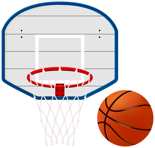 Basketball ball over court clipart. At getdrawings com free
