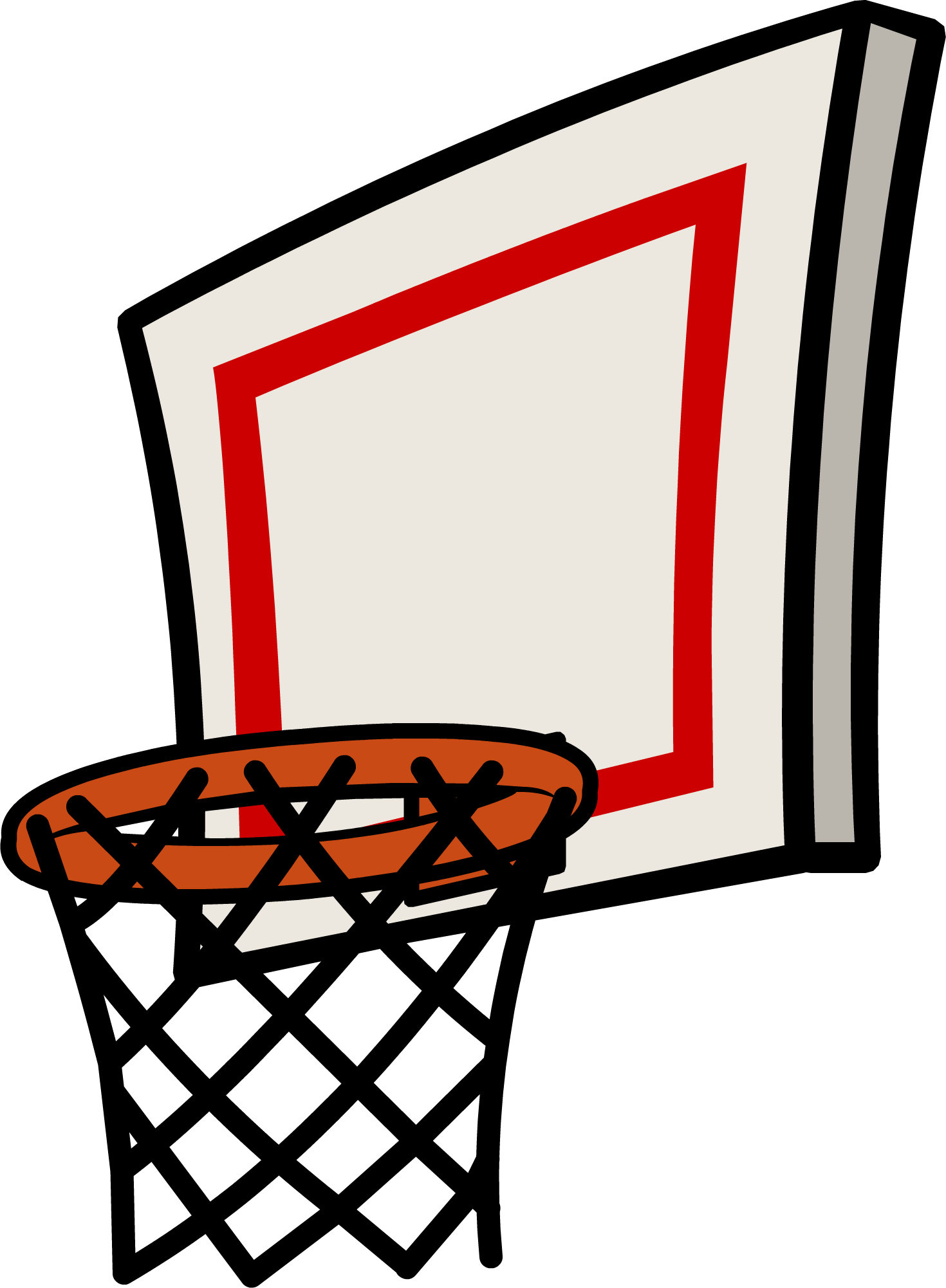 Distressed basketball and net clipart png transparent library 28+ Collection of Basketball Goal Clipart Transparent | High quality ... png transparent library