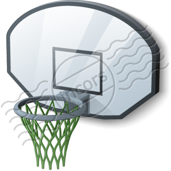 Basketball and goal clipart graphic freeuse stock Basketball Hoop | Free Images at Clker.com - vector clip art online ... graphic freeuse stock
