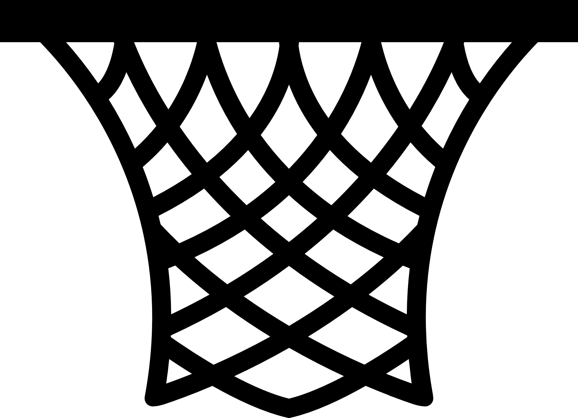 Distressed basketball and net clipart picture black and white library 28+ Collection of Basketball Goal Clipart Black And White | High ... picture black and white library
