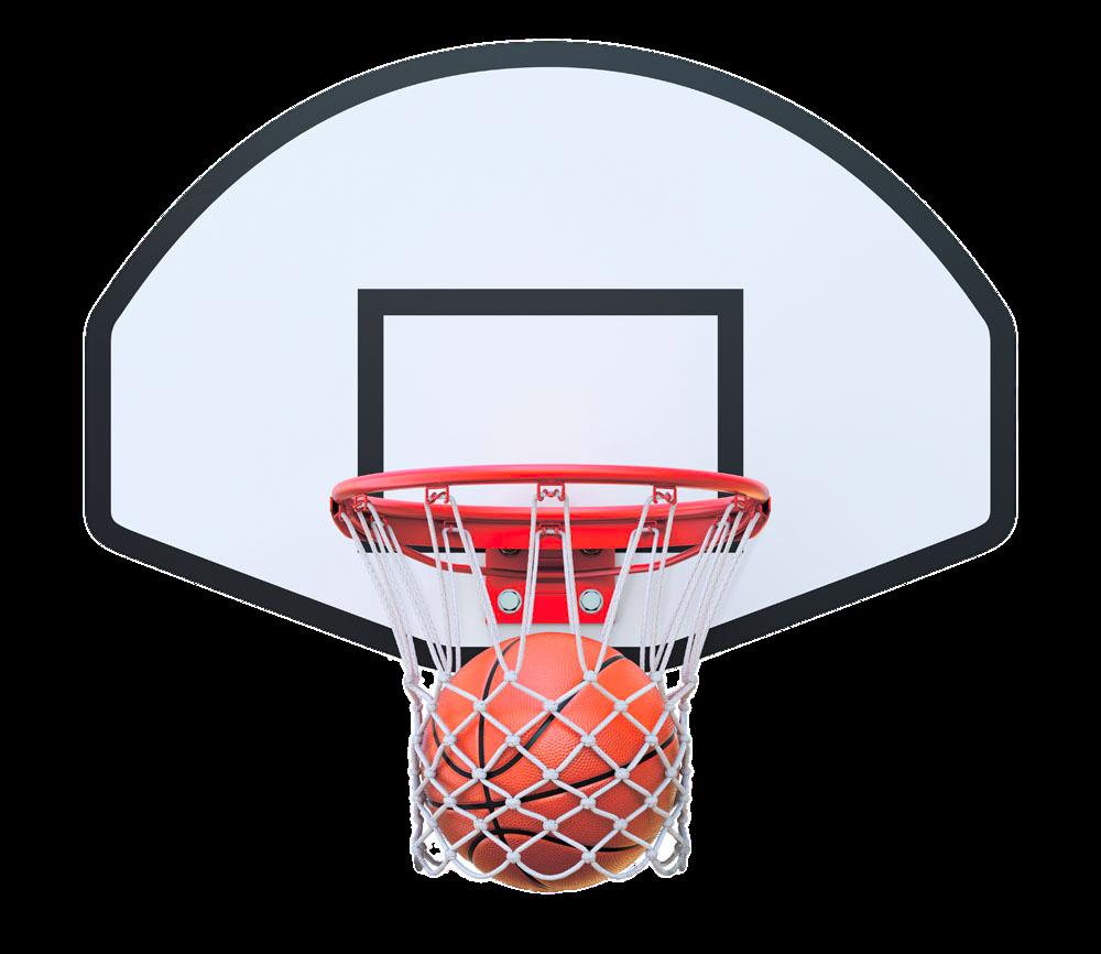 Basketball and hoop clipart. Backboard net stock photography