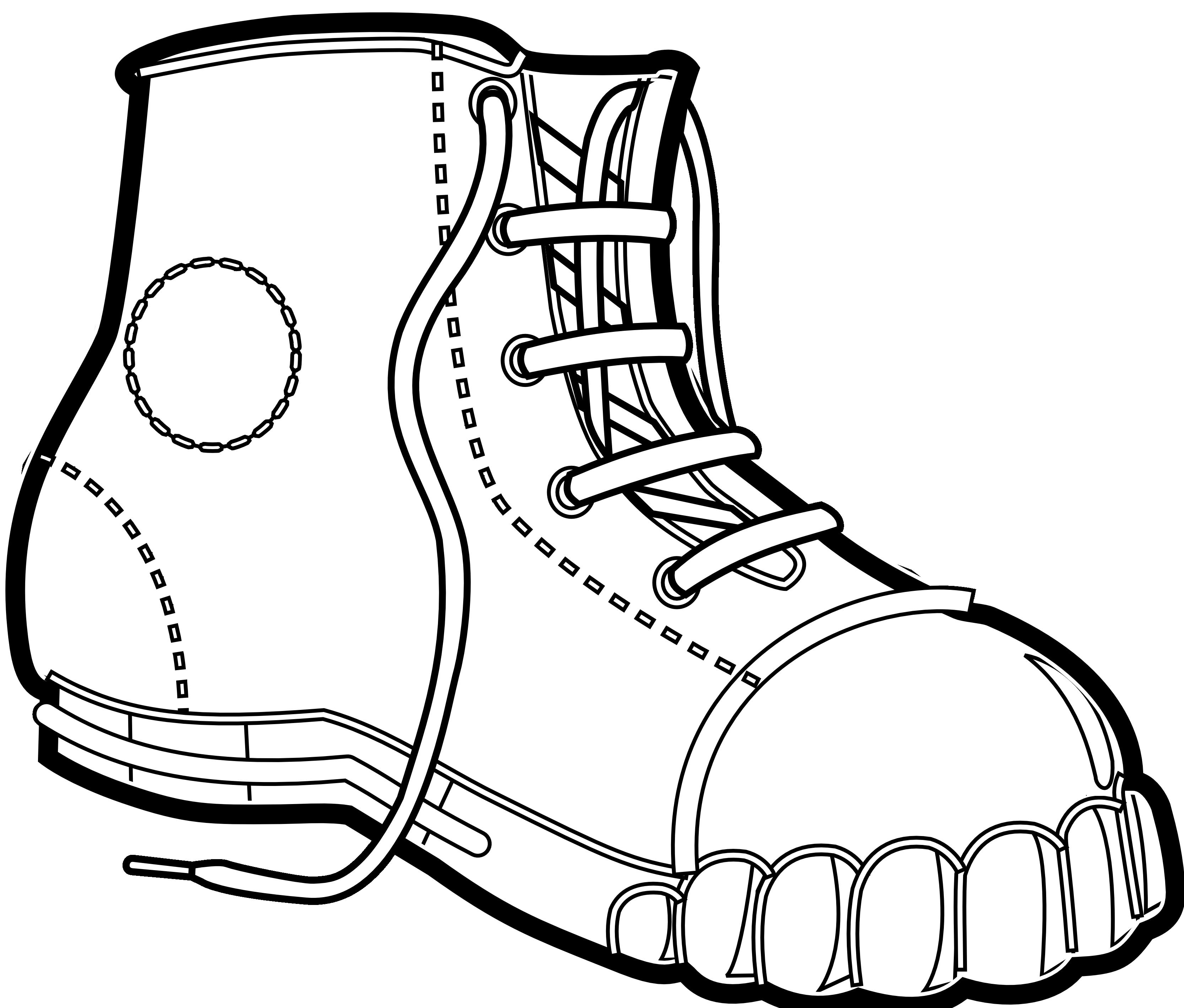 Basketball shoe clipart clip art download Shoe Clipart (65+) clip art download