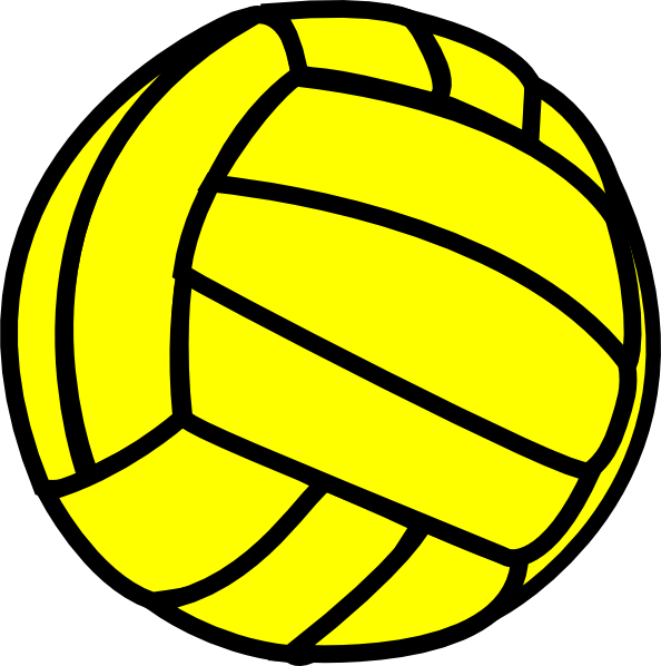 Gold clip art images. Basketball and volleyball clipart