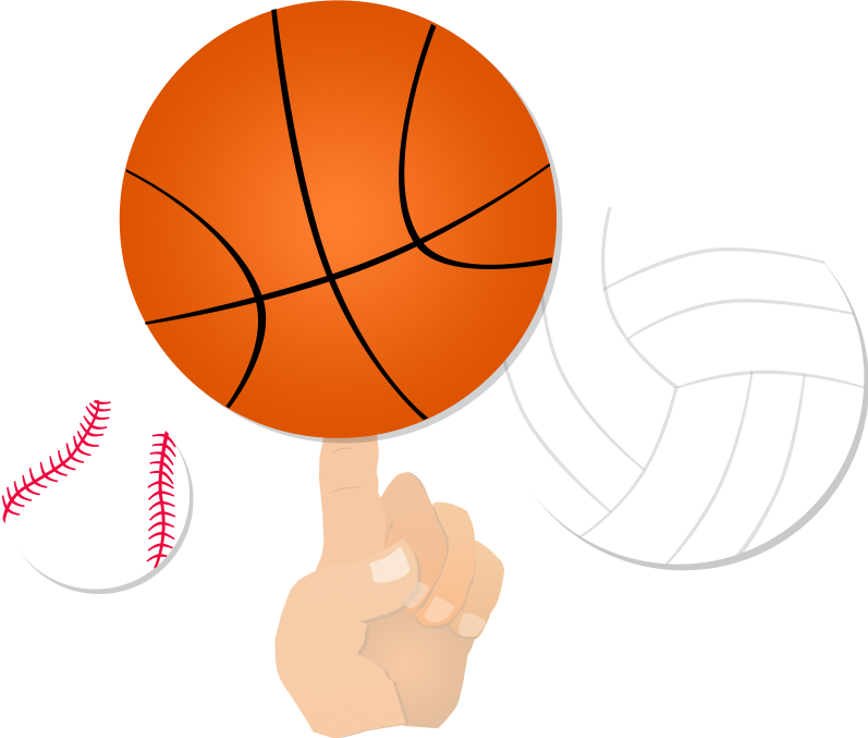 Volleyball and basketball clipart graphic freeuse Welcome to Neosho County Community College graphic freeuse