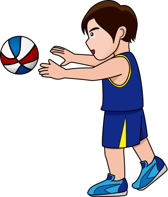 Fun basketball clipart clip freeuse stock 28+ Collection of Passing Basketball Clipart | High quality, free ... clip freeuse stock