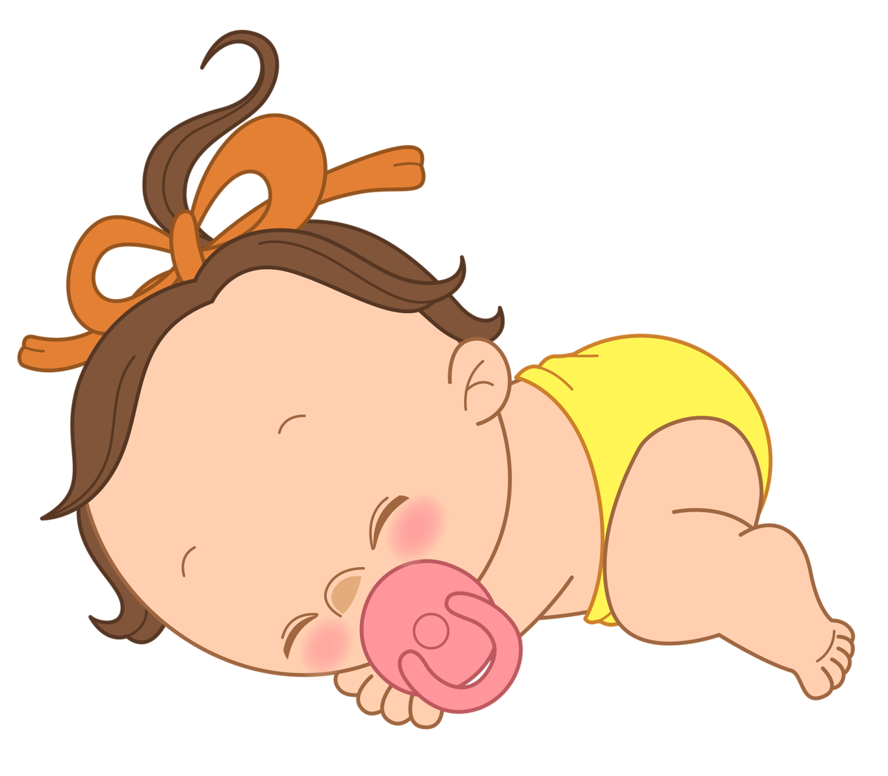 Basketball babies clipart clip black and white library Quiet Baby Sleeping Clipart - Free Clipart clip black and white library