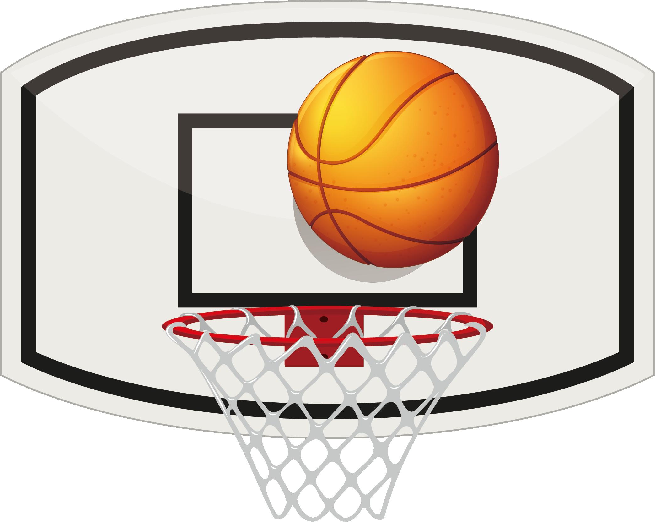 Basketball back board hoop clipart vector stock Basketball Backboard Stock photography - Basketball Basketball 2087 ... vector stock