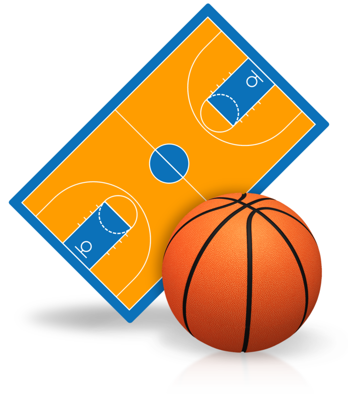 Modular the new way. Basketball backboard breaking clipart