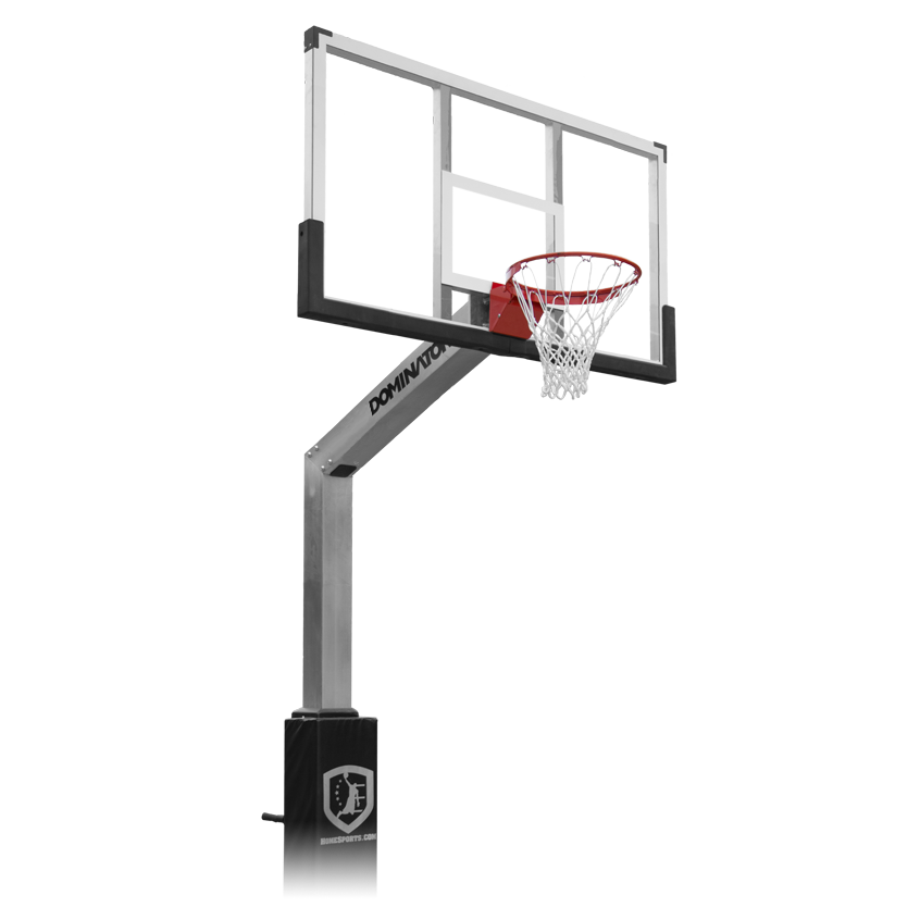 Basketball backboard clipart black and white jpg black and white stock Transparent Basketball Hoop (61+) jpg black and white stock