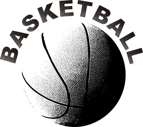 Basketball backboard clipart black and white picture transparent Basketball Clip Art at Clker.com - vector clip art online, royalty ... picture transparent