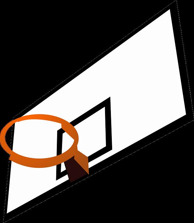 Graphic basketball clipart image Free photo Basketball Rim Backboard Recreation Sports - Max Pixel image