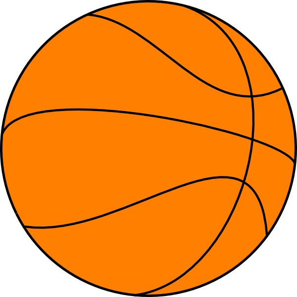 Basketball background clipart image free library Big Basketball Clip Art at Clker.com - vector clip art online ... image free library