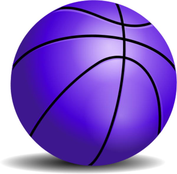 Basketball wallpaper clipart svg library stock Purple Basketball Clipart svg library stock