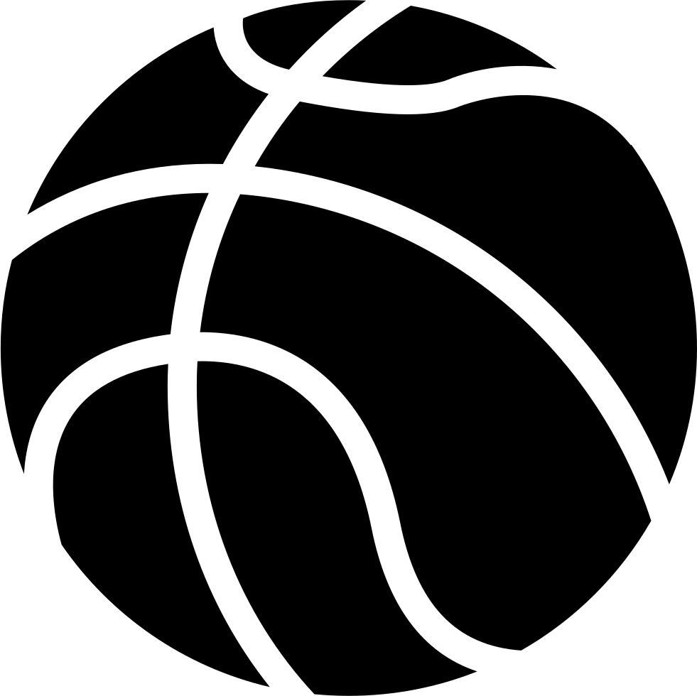 Basketball ball clipart black and white black and white library Basketball Ball Silhouette at GetDrawings.com | Free for personal ... black and white library