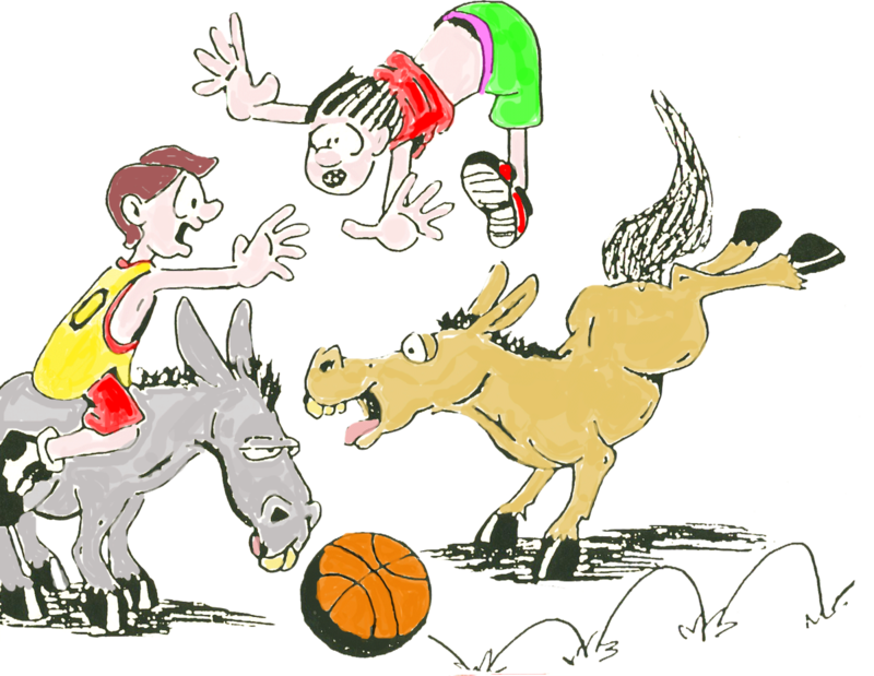 Basketball banner clipart.  collection of donkey