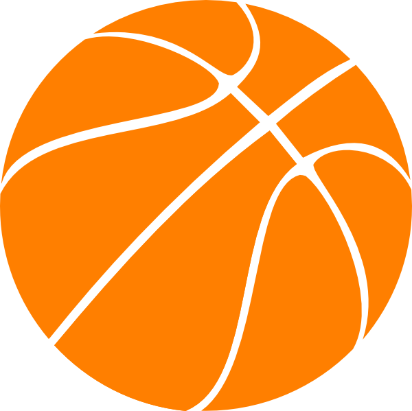 Free girls basketball clipart images picture transparent library Orange Basketball Clip Art at Clker.com - vector clip art online ... picture transparent library