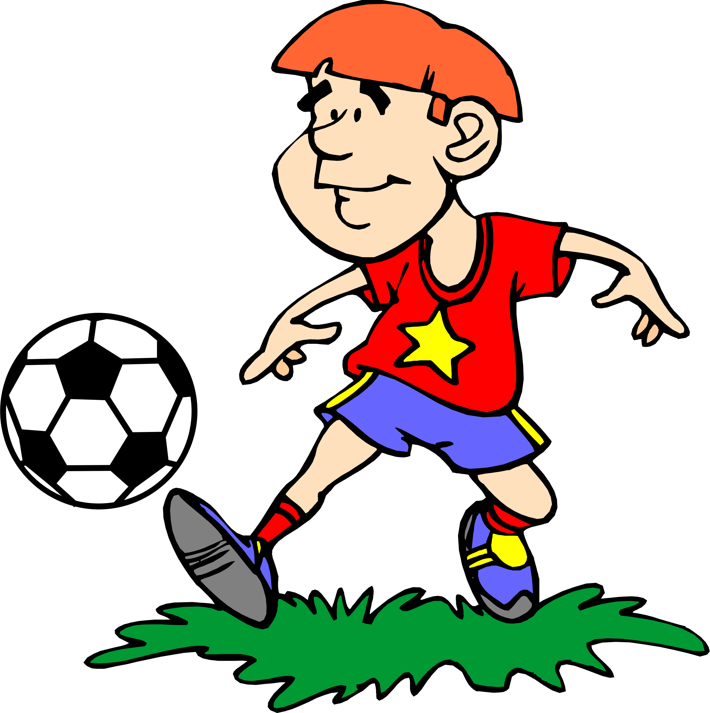 Clipart image football player clip art royalty free Different Clipart at GetDrawings.com | Free for personal use ... clip art royalty free