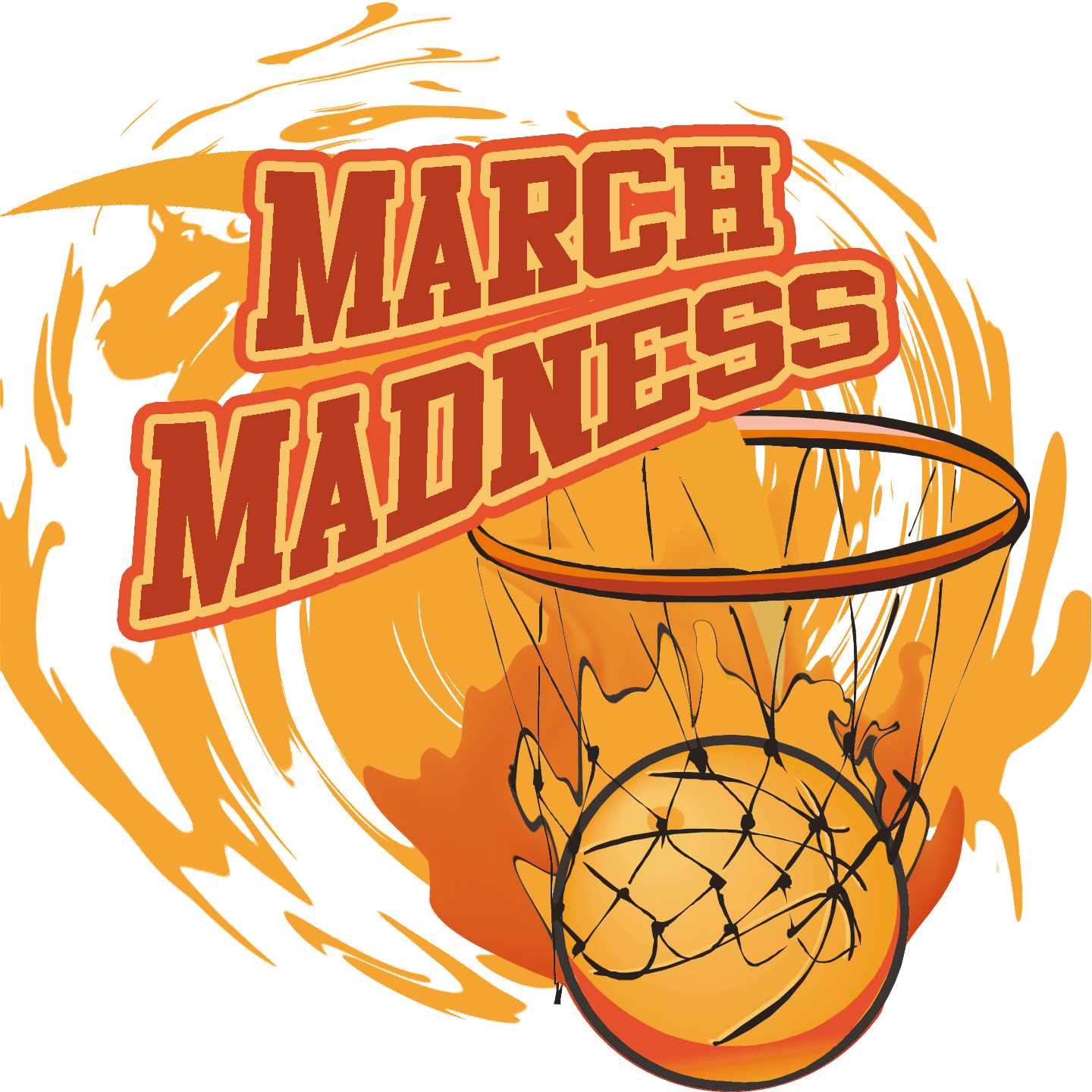 A spirituality of march. Basketball benched clipart